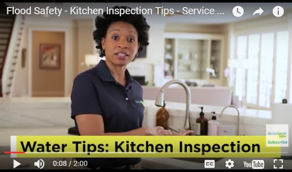 kitchen flood safety video