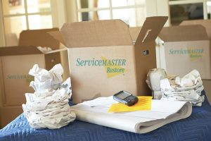 ServiceMaster content packing