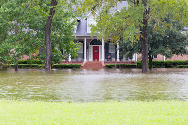 hurricane flood waters
