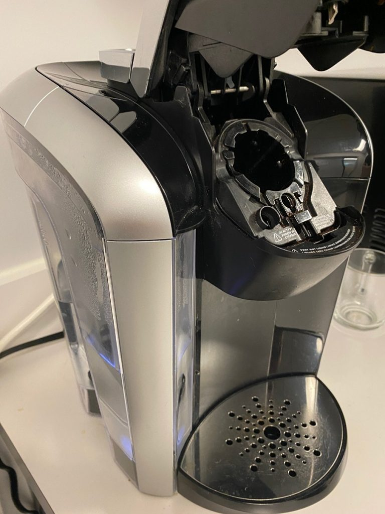 how to clean mold from keurig