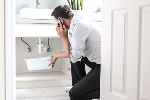 Causes of a Flooded Bathroom | What to Do